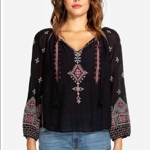 Johnny Was Embroidered Ava Marrakesh Blouse